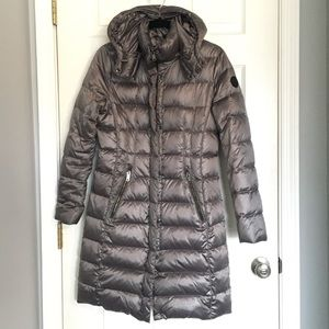 DKNY Maxi down puffer coat